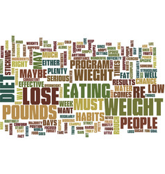 Lose wieght diet text background word cloud vector
