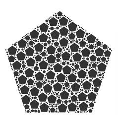 Pentagon figure icon figure vector