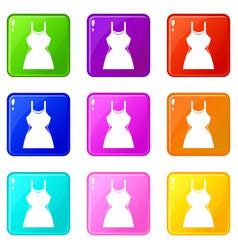 little dress set 9 vector image vector image