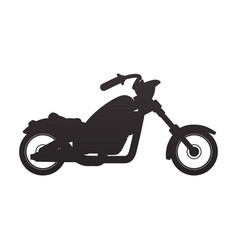 Custom vintage motorcycle vector