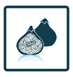 Icon of Fig fruit vector image