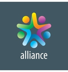 Logo alliance vector