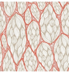 seamless wave pattern with transparent background vector image