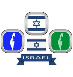 Symbol of ISRAEL vector
