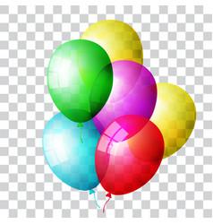 balloon set colored vector image