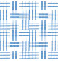 Blue and white check plaid vector