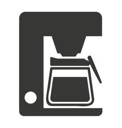electric coffee isolated icon design vector image
