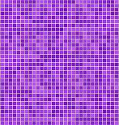 Purple pixel mosaic background vector