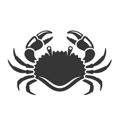 sea crab icon on white background vector image