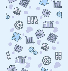 seamless pattern school and education vector image