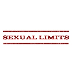 Sexual Limits Watermark Stamp vector
