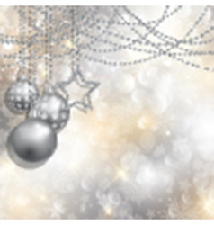 silver christmas background 2111 vector image