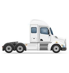 semi truck trailer 01 vector image