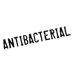 Antibacterial rubber stamp vector