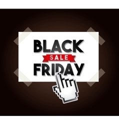 Black friday sale commerce vector