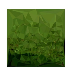 Chlorophyll Green Abstract Low Polygon Background vector