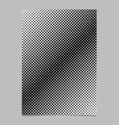 halftone dot pattern brochure background template vector image