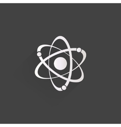 Molecule atom icon vector image