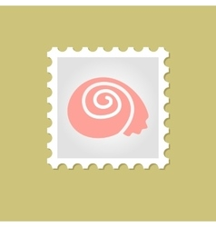Shell stamp vector