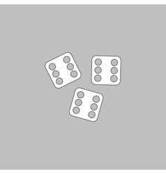 Lucky computer symbol vector image
