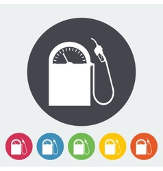 Icon gas station vector image vector image