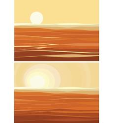 sands vector image