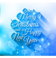 2015 Merry Christmas and happy new year background vector