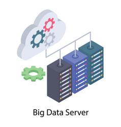 Big data server vector