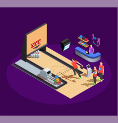 Bowling isometric composition vector