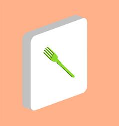 fork computer symbol vector image