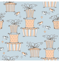 Lovely seamless pattern vector