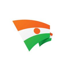 niger flag vector image