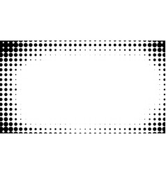halftone dotted background for business design vector image