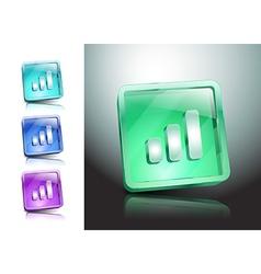 Wireless Network Symbol signal internet network vector image vector image