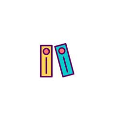 Archives icon design stationery icon design vector