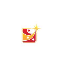 Career coaching logo design template vector