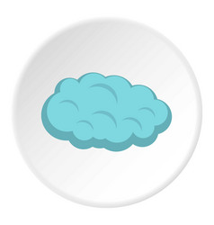 Cloud icon circle vector