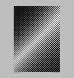 geometrical halftone dot pattern background vector image