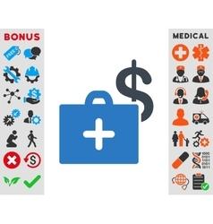 Medical Fund Icon vector