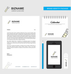 pop business letterhead calendar 2019 and mobile vector image