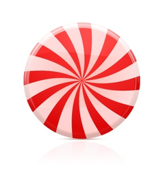 striped sugar candy vector image vector image