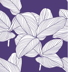 Foliage seamless pattern4 vector