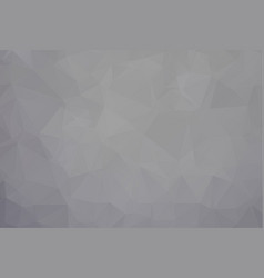 gray polygonal which consist of triangles vector image