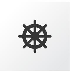 handwheel icon symbol premium quality isolated vector image