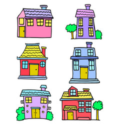 House set design vector
