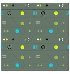 mechanism and abstract interface seamless pattern vector image