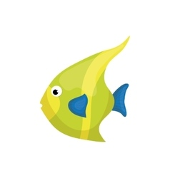 Sea fish animal vector image