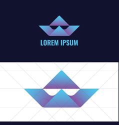 W word logo design vector