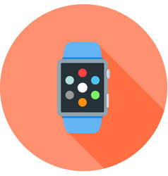 Watch apps vector