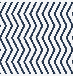 seamless pattern zig zag vector image